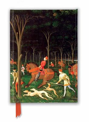 Ashmolean Museum: the Hunt by Paolo Uccello (Foiled Journal)