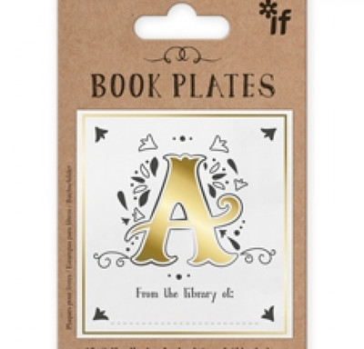 Letter Book Plates A