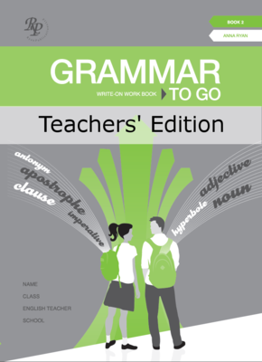Grammar to Go Book 2 Teachers Answerbook