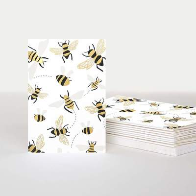 Card - Mini Bees