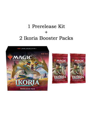 Large magic ikoria prerelease combo