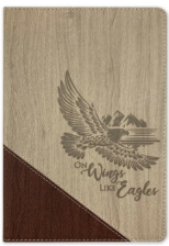 Journal On Wings Like Eagles Luxleather