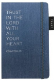 Journal Denim Trust In The Lord w/Elastic