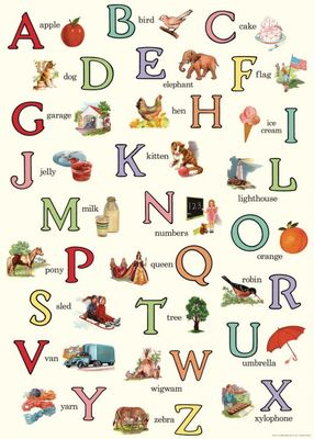 Wrap - Alphabet English