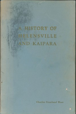 A History of Helensville and Kaipara