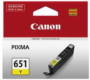 Canon Ink CLI651COCN Yellow