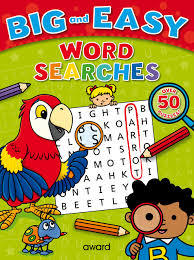 Word Searches - Big and Easy (Red)