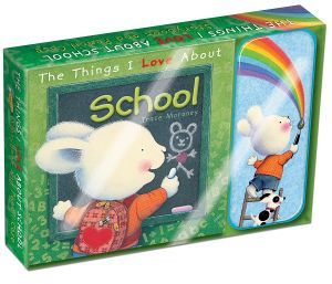 Things I Love About School Storybook and Pencil Case