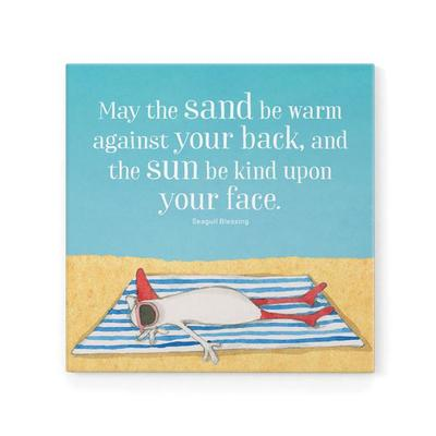 May The Sand Be Warm Magnet