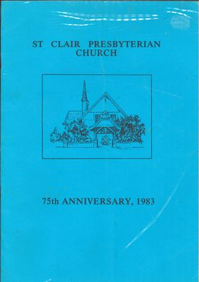 St Clair Presbyterian Church 75th Anniversary, 1983