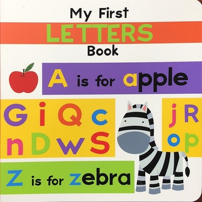 MY FIRST LETTERS BOARD BOOK