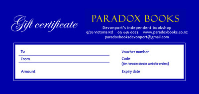 Paradox Books Voucher $30