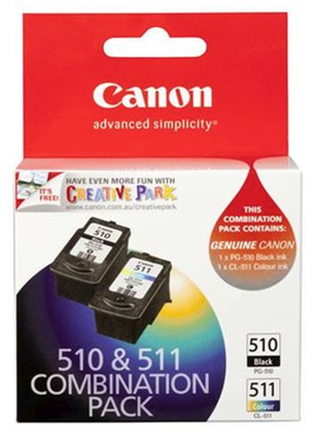 Canon Ink PG510CL511CP Combo Pack