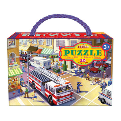 Fire Truck Puzzle (20pc)