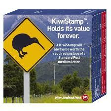 NZ Post KiwiStamp Box of 100