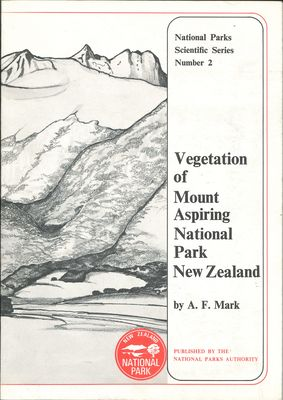 Vegetation of Mount Aspiring National Park New Zealand