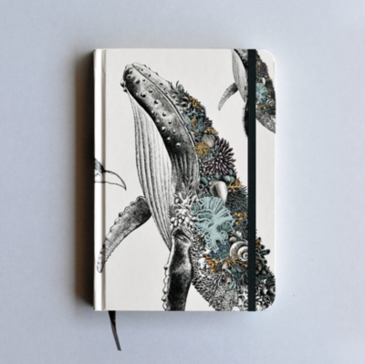 Journal Hardcover A5 - Humpback Whale