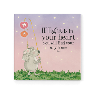 Magnet - Twigseeds If Light Is In Your Heart Magnet