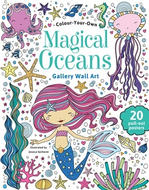 Colour Your Own Magical Oceans Gallery Wall Art
