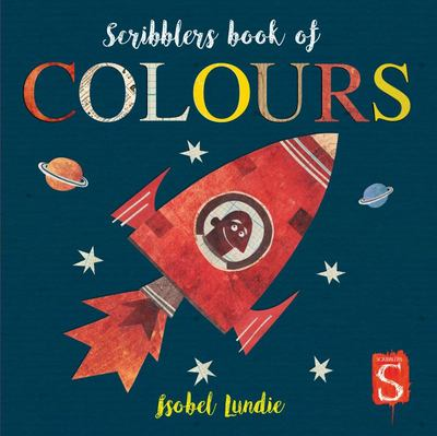 Scribblers Book of Colours (Board Book)
