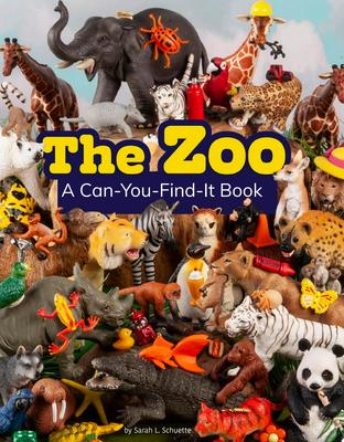 The Zoo (A Can-You-Find-It Book)