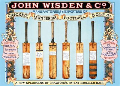 Card - Cricket Bats (MG-196503)
