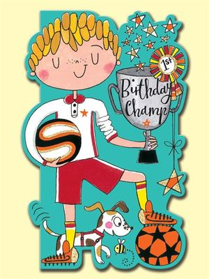 Card - Birthday Champ DAR11