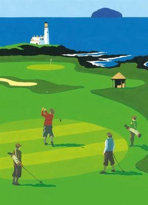 Card - Golf, Scotland 315416KZB