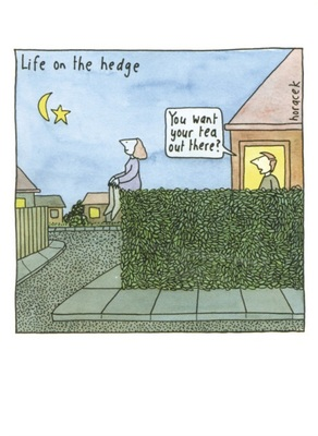 Card - Life on the Hedge  BIP5772