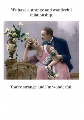 Card - Strange and Wonderful Relationship CTF1281