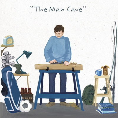 Card - The Man Cave GAMXAW1727