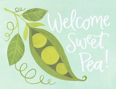 Card - Sweet Pea C686