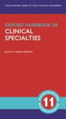 Oxford Handbook of Clinical Specialties 11ed