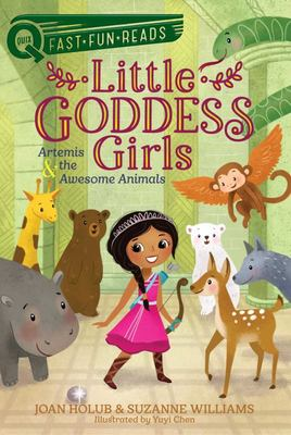 Artemis and the Awesome Animals - Little Goddess Girls 4