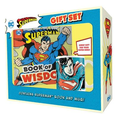 Superman Book and Mug Gift Set