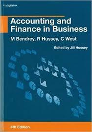 Accounting and Finance in Business