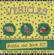 Vehicle Puzzle and Book Kit