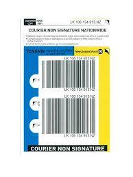 Courier Nation Wide Signature