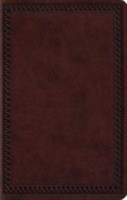ESV Premium Gift Bible (TruTone, Mahogany, Border Design)