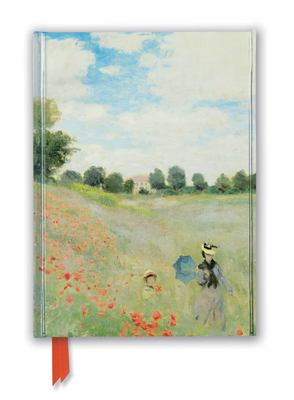 Claude Monet: Wild Poppies, near Argenteuil (Foiled Journal)