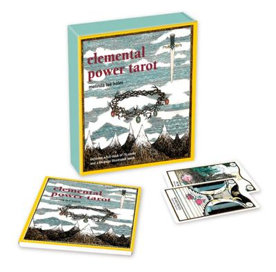 Elemental Power Tarot - Includes a Full Deck of 78 Cards and a 64-Page Illustrated Book