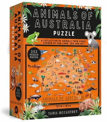 Animals of Australia Puzzle (252 Piece Jigsaw)