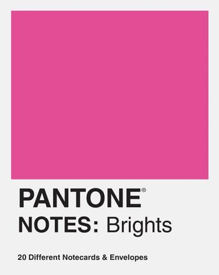 Pantone Notes: Brights - 20 Different Notecards & Envelopes