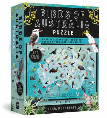 Birds of Australia Puzzle (252 Piece Jigsaw)