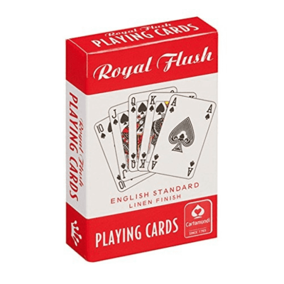 Royal Flush Playing Cards (Red)