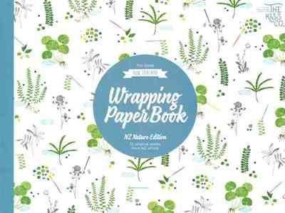 The Great New Zealand Wrapping Paper Book NZ Nature Edition