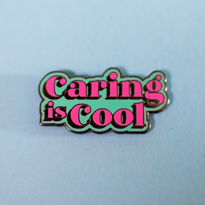 Pin – Caring is Cool (Proud Minority)