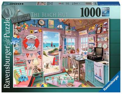 Rburg - My Haven No7 - The Beach Hut 1000pc