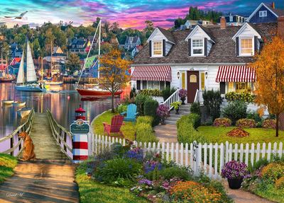 Home Sweet Home 2 Charles Harbour  Puzzle 1000pc