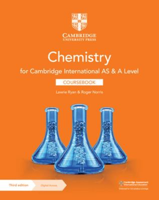 Cambridge International AS and A Level Chemistry Coursebook with Digital Access (2 Years)